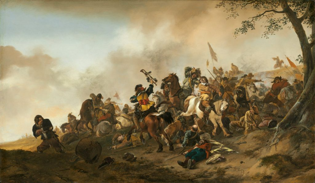 Battle Scene | Philips Wouwerman | National Gallery of Art | Washington DC
