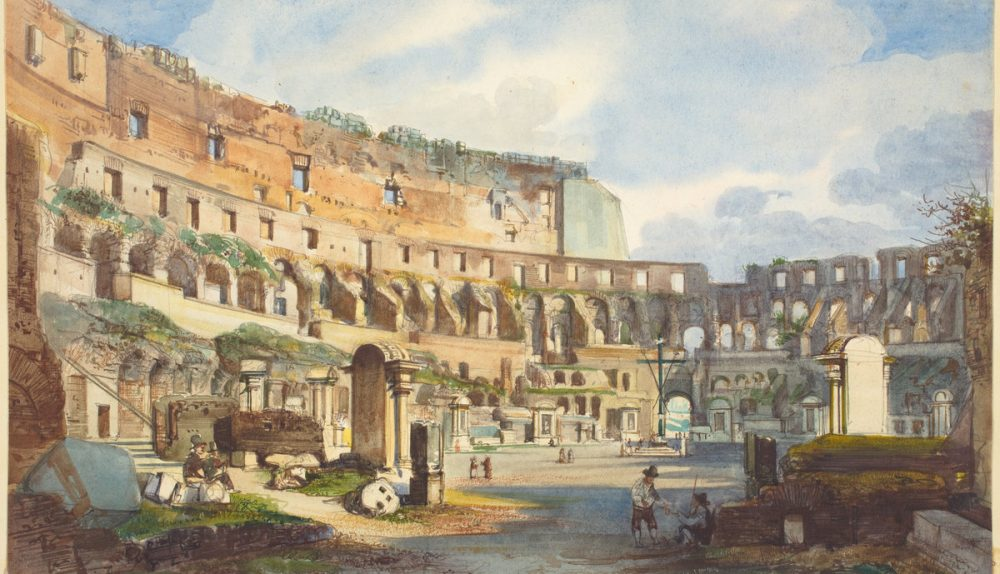 Interior of the Colosseum | Ippolito Caffi | National Gallery of Art | Washington DC