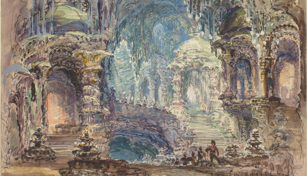 Fantastic Pavilions in a Grotto | Robert Caney | National Gallery of Art | Washington DC
