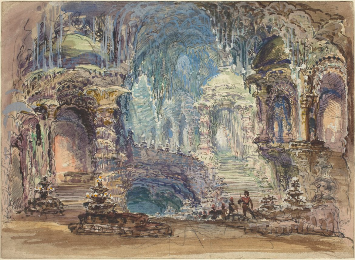 Fantastic Pavilions in a Grotto | Robert Caney