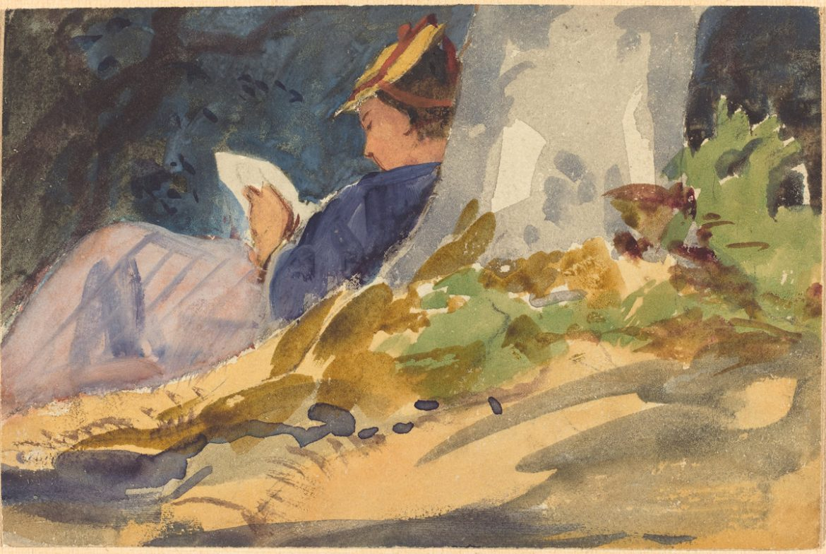 Resting | Follower of John Singer Sargent